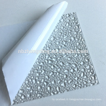 Feuille en polycarbonate en feuille gaufrée 100% bayer PC