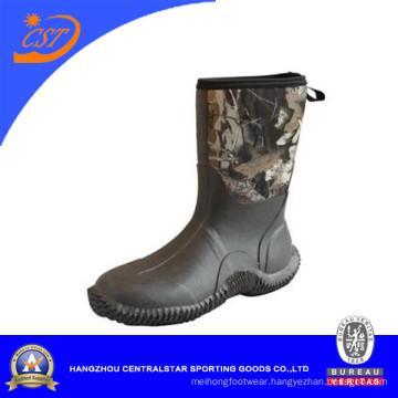 Fashion Anti-Slip Camo Hunting Rubber Boots