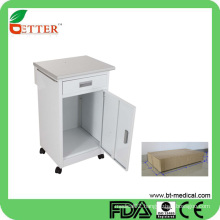 one door and one drawer hospital bedside cabinet