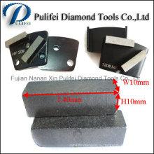 Бетонную поверхность пола шлифования сегмент шлифовальные Алмазные на металлической площадки