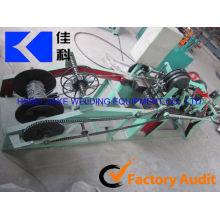 Única máquina de arame farpado / máquina de fazer arame farpado galvanizado (fabricação)