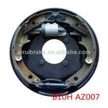 1500KG boat trailer hydraulic dacromet drum brake plate stainless