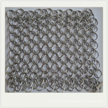 Stainless steel cast iron cleaner/ chain cleaner / sqaure cookware