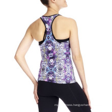 Girls Yoga Tank Tops Fitness Gym Sports Wear