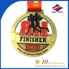 Kundenspezifische Metal Marathon Medaille International Run Medal Sport Award Medaille