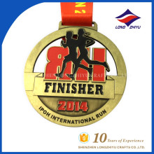 Custom Metal Marathon Medal International Run Medal Sport Award Medal
