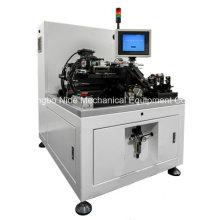 Machine de correction d'équilibrage de rotor semi-automatique