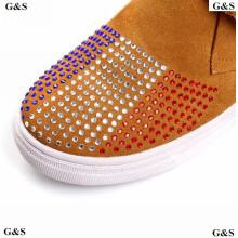 Diamante de acrílico caliente del arreglo para los zapatos