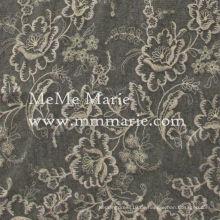 Elegante Goldstickerei-Spitze mit Rose strickte Spitze für Kleid u. Vorhang CT397E