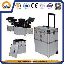 Aluminiumverfassungsschönheits-Kasten für Kosmetik (HB-3223)