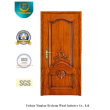 Porta de Segurança em Estilo Europeu com Escultura (b-6003)