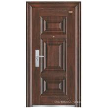 Simple Design Panel Steel Security Door
