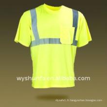 T-shirt de sécurité / chemise à haute visibilité