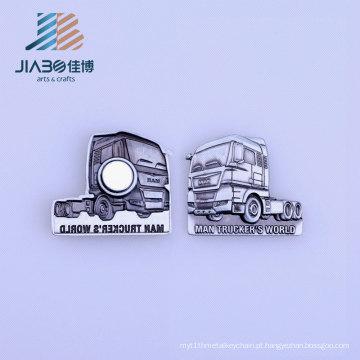 Emblema feito sob encomenda barato do Pin do ímã do ferro da forma do trator