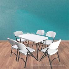 2018 Plain Table Designs Mesas plásticas pequenas