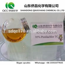 Suministro directo de la fábrica Agroquímico / Herbicida Pretilachlor 95% TC 30% EC 50% EC