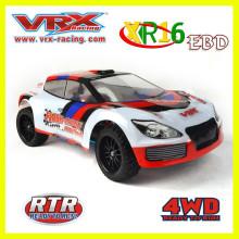 Vente chaude échelle 1/16 4WD brushless électrique rc modèle voiture