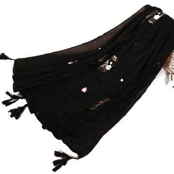 TINGYU En Gros Musulman Malaisie Femmes Lady Fille Multi Couleur Hijab Écharpe