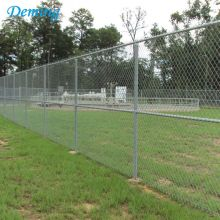 Factory 75*75mm Galvanized Used Chain Link Fence