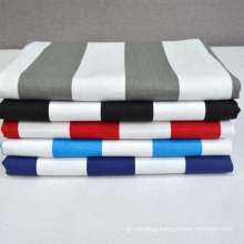 Wholesale custom high quality 12A Solid Color 100% Cotton Canvas Fabric for bag making sofa