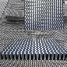 Ailettes ondulées / ailettes ondulées pour échangeur de chaleur