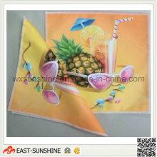 Custom Digital Printed Colorful Microfiber Cloth (DH-MC0421)