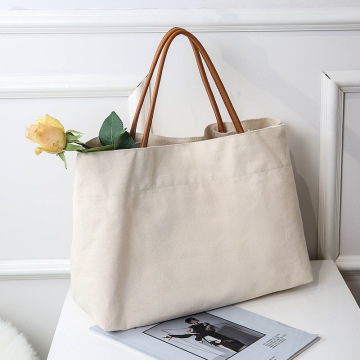 Custom+Blank+Cotton+Canvas+Shopping+Tote+Bag