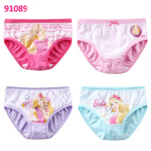 Fairy tale Style Carton Princess Printed Panties Lovely Childern Breathable Soft Underwear