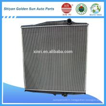 Chine fabricant radiateur tube en aluminium pour radiateur camion VOLVO FH12 FH161676435 1676635 1676543 8500327