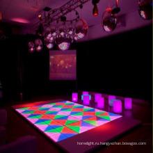 РГБ интерактивный светодиодный танцпол