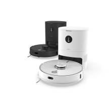 Self Empty Dust Bin Robot Vacuum Powerful Suction Lds Robot Vacuum Cleaner Laser 2700PA with Mop Function and Screen