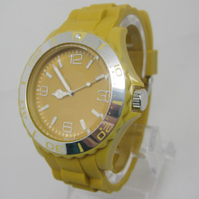 Nouvelle protection de l'environnement Japon Movement Plastic Fashion Watch Sj073-11