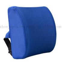 Cojín de almohada de la cintura de la silla del asiento de carro de la espuma de la memoria del logotipo del OEM