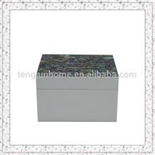 Boîte de rangement de coquillage en coquillage d'ailone
