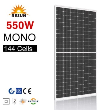 560W PV modules MONO HC 9BB Solar Panels