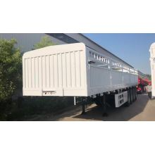 4 Axle 40ft Side Wal Stakel نصف مقطورة
