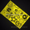 China EN471 colorful Promotional 3M PVC reflector stickers for bicycle