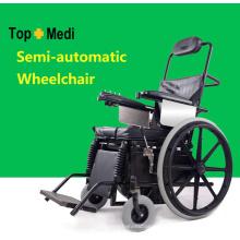 Topmedi Rehabilitation Therapy Supplies Cadeiras de rodas em pé semiautomáticas médicas
