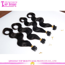 Wholesale Fashionable 6a Brazilian Virgin body wave Micro Loop Hair Extensions