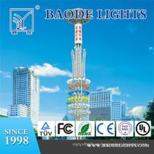 Torre de iluminación de mástil alto poligonal de 18 m (BDG18)