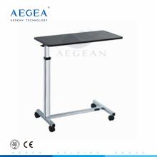 AG-OBT014 mesita de hospital de madera médica móvil hospital