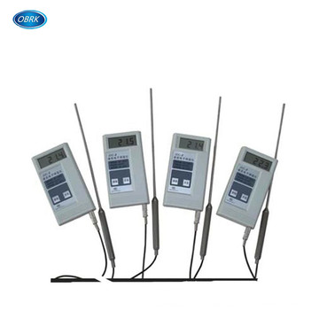 Concrete Building Electronic Thermometer With Embedded Cable