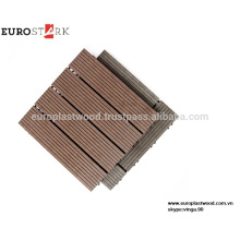 High quality Outdoor WPC decking tile with cheap price, waterproof, UV-resistant, long-life