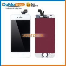 Original calidad AAA + barato precio vidrio delantero, anillo de cámara y polvo de malla para la pantalla de lcd de iPhone 5C