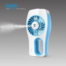 Portable Rechargeable Unique Products 2018 Fan de la niebla de mano