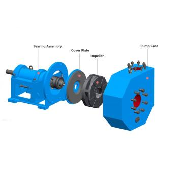 Sic Ceramic Light Duty Slurry Pump
