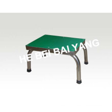 (D-31) Stainless Steel Single Layer Foot Stool