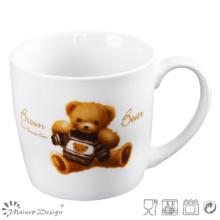 Bear & Coffee Design New Bone China Mug