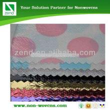 fleece fabric printed 100% polypropylene