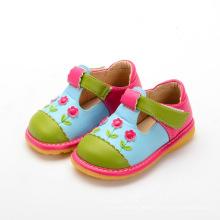 Mädchen Baby Schuhe T Strap Schuh Quietschen
